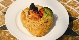 ゴロゴロ野菜の焼カレーパン